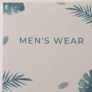 Men's Wear Sign